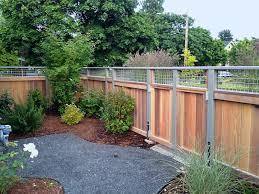 custom cedar fence u0026 pergola examples best services portland