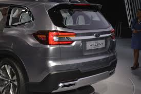 subaru legacy 2017 interior production 2019 subaru ascent will go on sale in 2018 u2013 motor