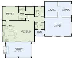 Small Pool House Floor Plans Second Floor Plan Of A Frame House Plan 51028 Ideas Para El