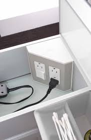 how to organize your bathroom vanity in the drawer electrical outlets for bathroom drawers u0026 vanities