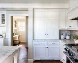 white kitchen with inset cabinets home bunch