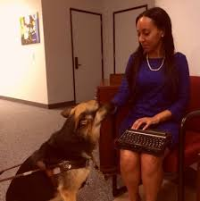 Teaching Deaf Blind Students Such An Inspiration Meet Haben Girma The First Deaf Blind Woman