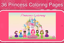 princess frozen coloring book android apps google play