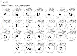 7 best images of free printable letter recognition kindergarten