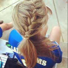Cute Sporty Hairstyles 52 Best Soccer Hair Images On Pinterest Hairstyles Braids And
