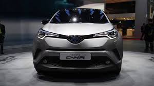 lexus nx300h harga geneva motor show toyota c hr first look 2018 youtube