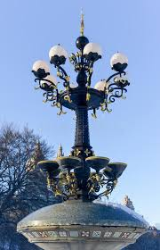 antique street lamp central park new york stock image image 50587627