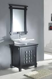 30 Inch Bathroom Vanity by Single 30 Inch Contemporary Bath Vanity Set With Mirror