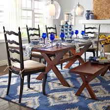 nolan extension tuscan brown trestle table pier 1 imports