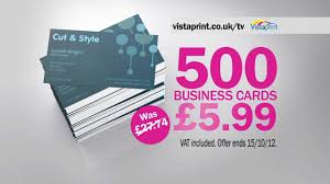 Vistaprint 10 Business Cards Vistaprint Tv Advert Uk In Hd Hairdresser Youtube