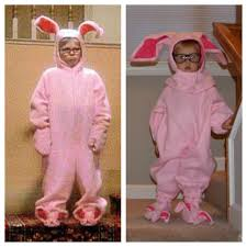 Bunny Halloween Costume Toddler Toddler Halloween Costume Ralphie Pink Bunny Christmas Story