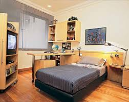 built in bed small apartments interior design solution partition