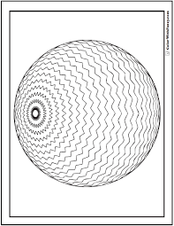 70 geometric coloring pages print customize 3d patterns