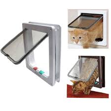 biowow 4 ways locking cat door for interior doors large size 24x23