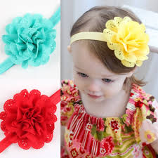 hair bands for babies baby girl s flower headband headwear floral topknot