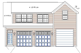 Just Garage Plans Tandem Garage Plans Tandem Garage Plan With Workshop Rv Bay And