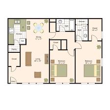 2 Bed 2 Bath Floor Plans by Floor Plans Memorial Creole Luxury Apartment Living In West