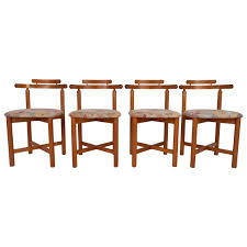 Modern Teak Outdoor Furniture by Set Of Mid Century Modern Style Danish Teak Dining Chairs By