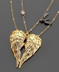 angel wings gold necklace images 250 best angel wing necklaces earrings images jpg