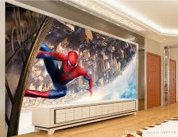 custom any size cartoon children s room 3d stereo wall decoration see larger image