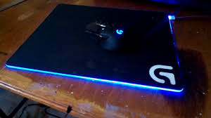 light up gaming mouse pad modded logitech g240 cloth gaming mouse pad rgb mouse pad youtube
