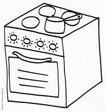 coloriage cuisine coloriages objets de cuisine tête à modeler