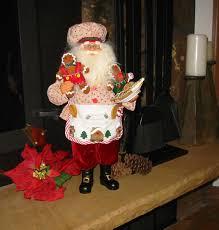 collectible themed santa traditional santa clause whimsical
