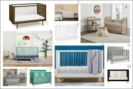 Baby Crib Bed 10 Beautiful Modern Baby Cribs To Consider For Your Nursery