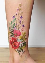 51 watercolor tattoo ideas for women watercolour flower tattoos