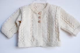 knit baby sweater 8644 nancy elizabeth designs