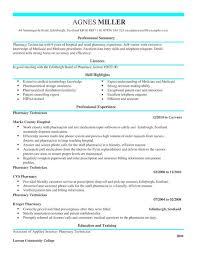 resume exles for pharmacy technician gallery of pharmacist cv templates