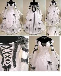 image result for nightmare before wedding dress
