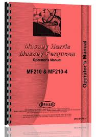 massey ferguson mf 210 210 4 tractor parts manual massey ferguson