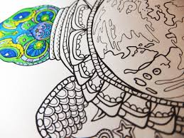 sea turtle coloring page candy hippie coloring pages
