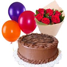 balloons and chocolate delivery cake to aligarh cake delivery in aligarh send cakes same day cheap