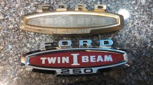 replacing plastic in twin i beam fender emblem ford truck