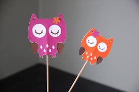 owl centerpieces owl birthday party owl baby shower owl