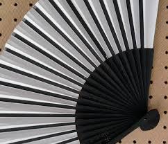 held paper fans plain paper held fans