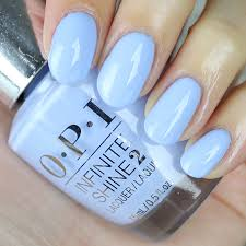 opi light blue nail polish opi infinite shine to be continued swatches review swatch and learn