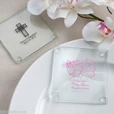 Wedding Favors Uk by 300 Personalised Glass Coasters Wedding Ideas Uk Personalised