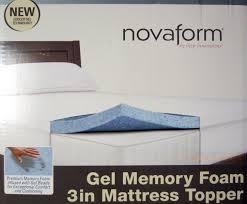 bedroom tempurpedic mattress topper twin xl costco novaform