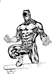 coloring books black panther coloring pages fresh at ideas free