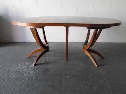 mid century walnut dining table brilliant mid century dining table in huge mid century custom made