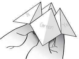 how to make a cootie catcher fortune teller 13 steps