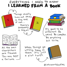 everything i need to know i learned from a book books