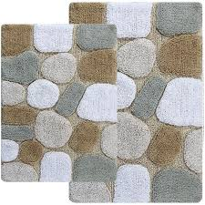 Jcpenney Bathroom Rug Sets Chesapeake Merchandising Pebbles 2 Pc Bath Rug Set Jcpenney