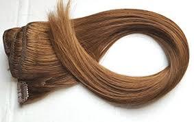 tressmatch hair extensions tressmatch remy human hair clip in extensions chestnut medium