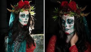 Aztec Halloween Costume Sugar Skull Makeup Offensive Popsugar Latina
