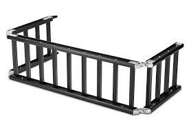 Ford F150 Truck Ramps - readyramp i beam full sized bed extender ramp black 100