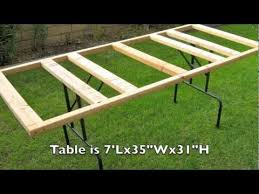 Make A Picnic Table Out Of One Sheet Of Plywood by Plywood Panel Cutting Table Easy And Storable Youtube